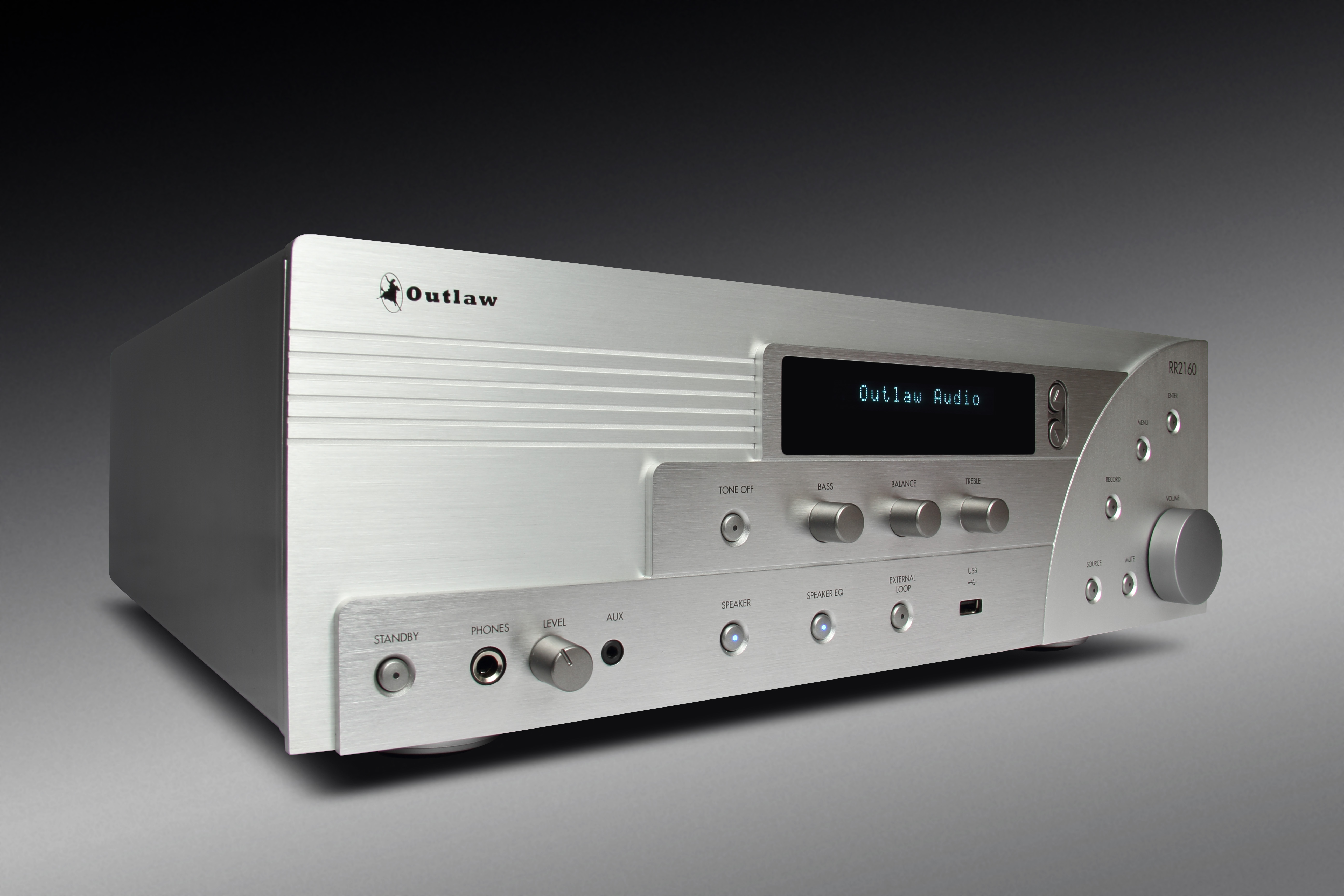 Rr2160 Stereo Receiver Tone Control Include Subwoofer Out The Outlaw Audio Rr 2160 Flat Sounds Better Than Any Or Amplifier Ive Heard For Its 799 Asking Price