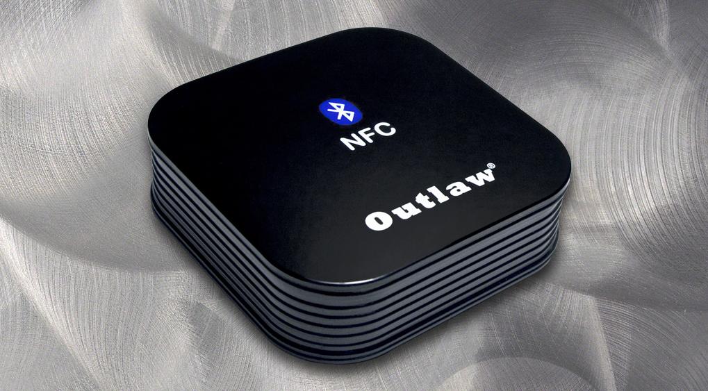 Outlaw Audio's Model BTR-100 Bluetooth Receiver with aptX